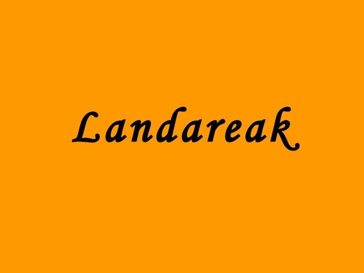 Landareak