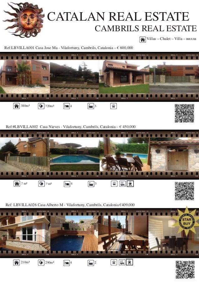 CATALAN REAL ESTATECAMBRILS REAL ESTATERef:LBVILLA001 Casa Jose Ma - Vilafortuny, Cambrils, Catalonia – € 600,000Ref:#LBVI...