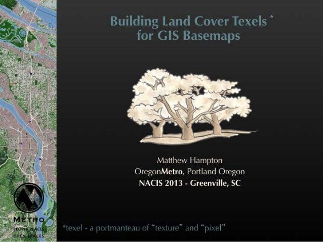 Building Land Cover Texels for Basemaps