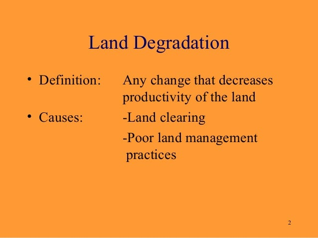 Ppt land degradation in australia powerpoint presentation id.