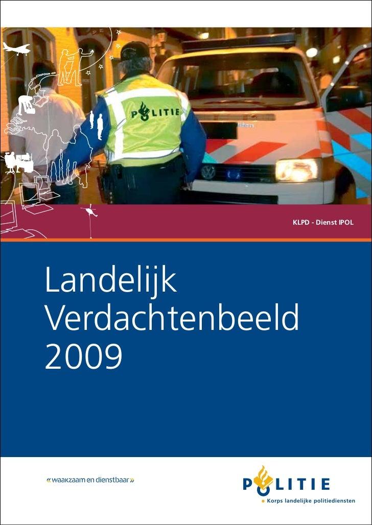 KLPD - Dienst IPOLLandelijkVerdachtenbeeld2009