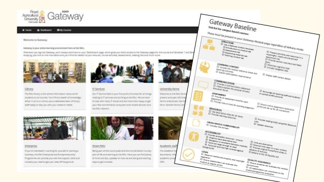 myRAU • Comprehensive student portal software – 'university in a box' • Available as a desktop and as a mobile app • Can b...