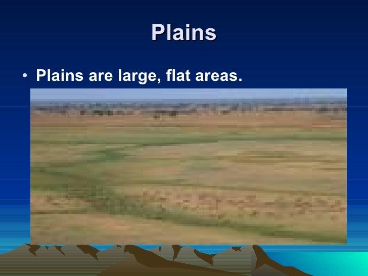 different kinds of landforms pdf