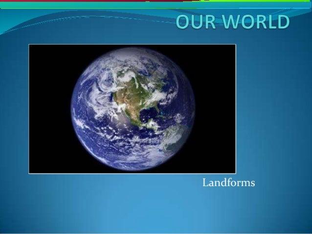Landforms 1