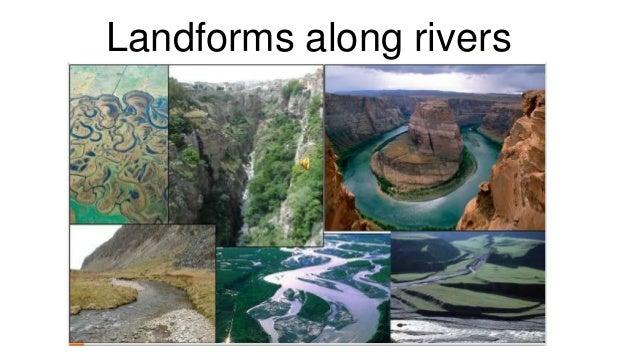 Landforms along rivers
