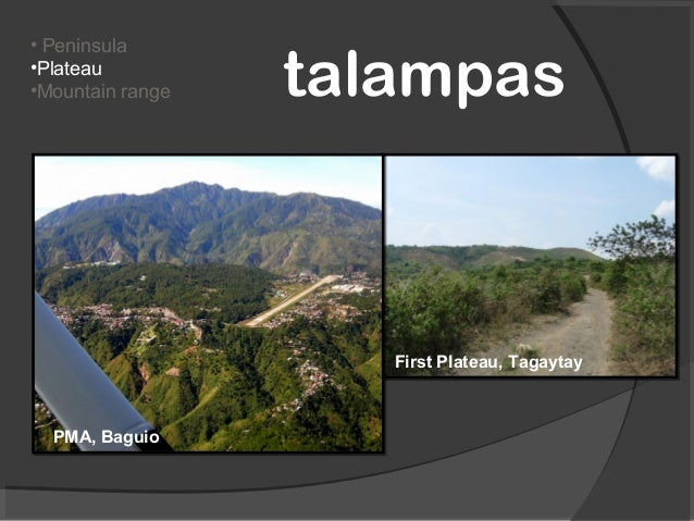 Land forms of the philippines grade 1 2 peninsulaplateaumountain range tangwaybataan peninsula 14 sciox Image collections