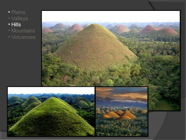 Land forms of the philippines grade 1 2 plains valleys hills mountains volcanoes sciox Image collections