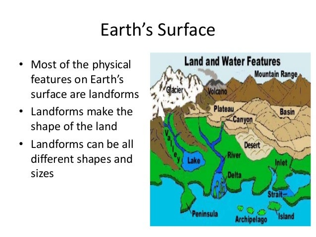 physical features of earth pdf