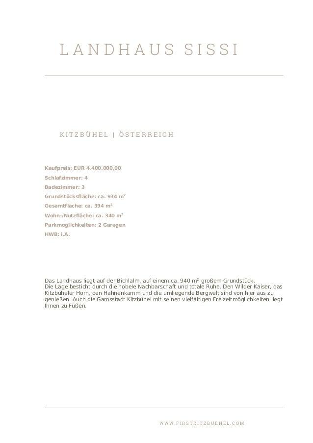 Landhaus Sissi - First Kitzbühel Immobilien
