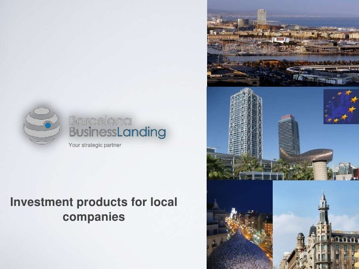 Your strategic partnerInvestment products for local        companies