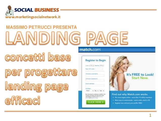 1www.marketingsocialnetwork.itMASSIMO PETRUCCI PRESENTA