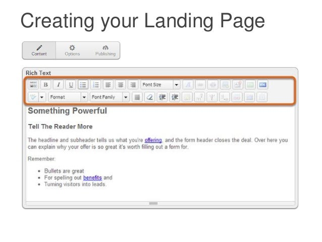 how to add external landing page in hubspot campaign