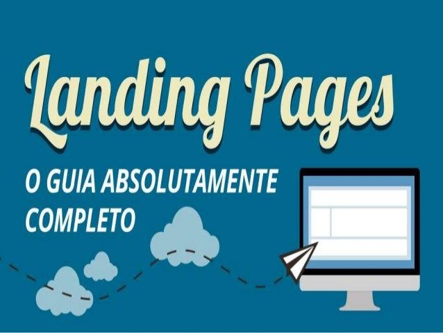 Landing pages podem alavancar vendas, assinaturas, ...