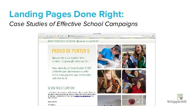 Landing Pages Done Right: 