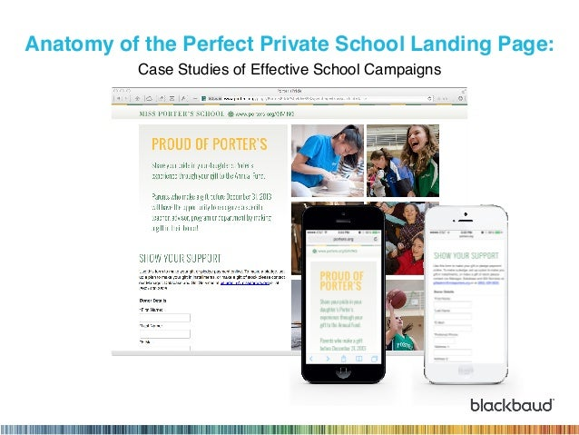 Anatomy of the Perfect Private School Landing Page: 
