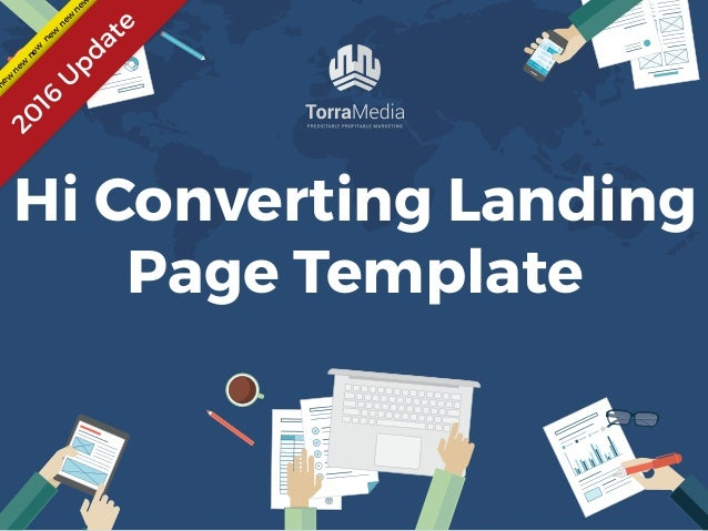 Landing Page Template High Converting For - High converting landing page templates