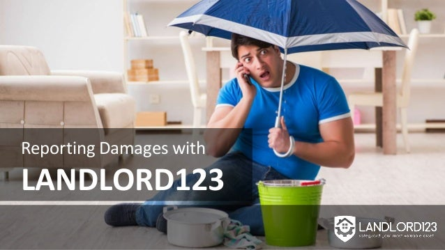 Reporting Damages with LANDLORD123