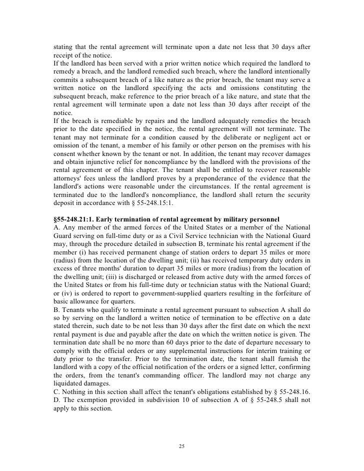 Virginia Landlord Tenant Handbook