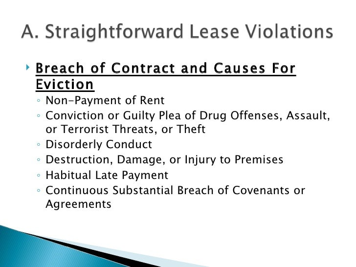 landlord tenants landlord s options when the deal goes bad