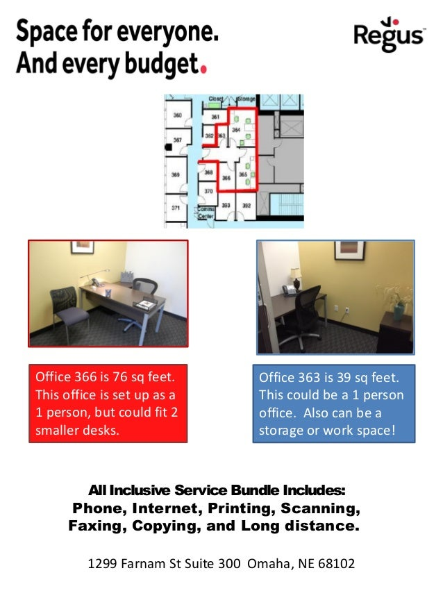 1299 Farnam - Regus - 4 Offices with Private Hall