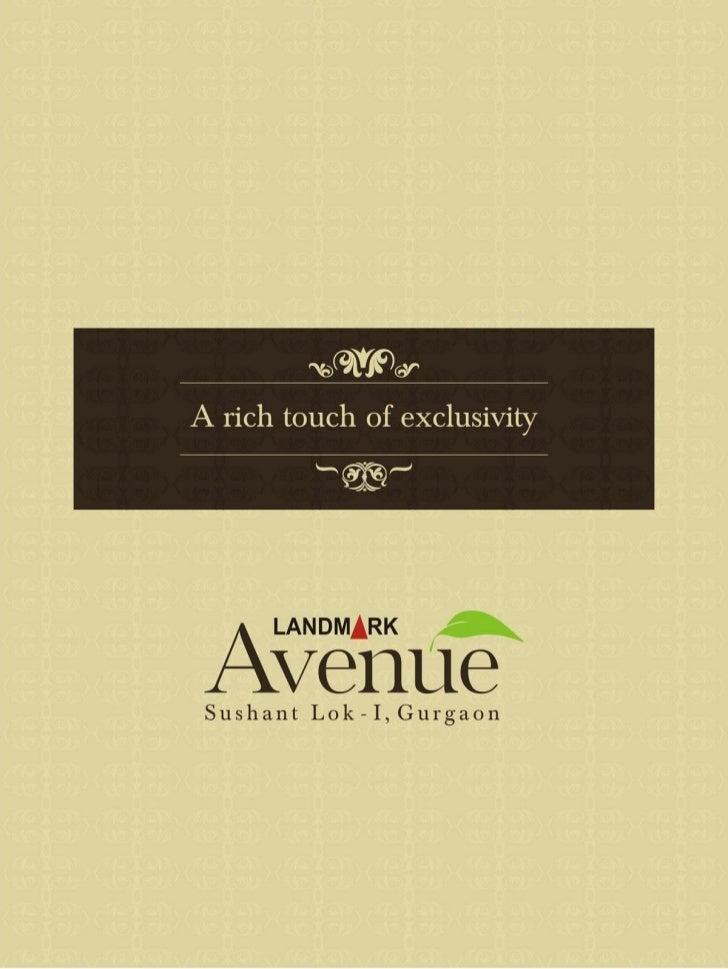 Landmark avenue floors sushant lok gurgaon 9811 822 426