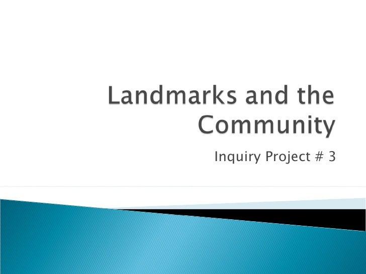 Inquiry Project # 3