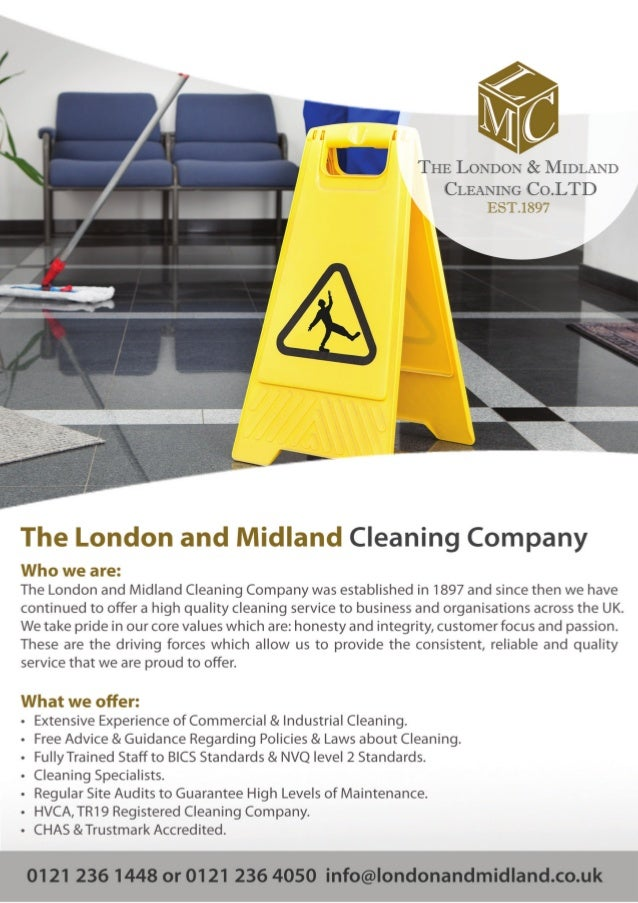 Commercial Window Cleaning company in Birmingham - The London & Midland Cleaning Company