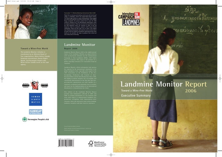 Landmine Monitor ReportToward a Mine-Free World   2006Executive Summary