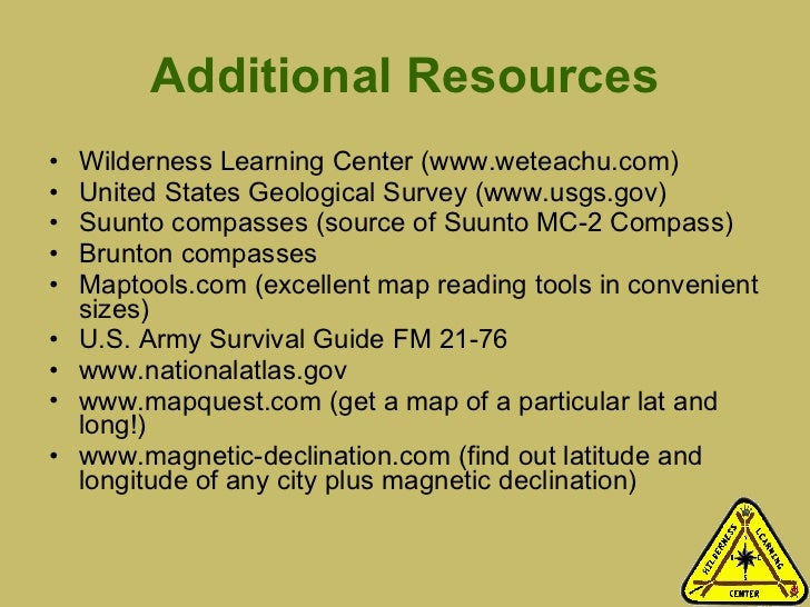 Land Navigation With Map And Compass - Us army map reading