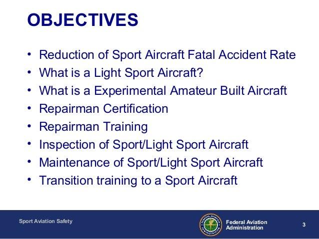 Sport Aviation Safety