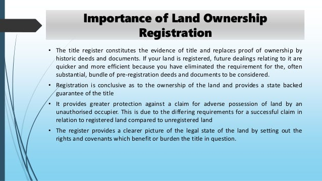 ITG FAQ #3 Answer-With regard to Indian tribes, what is the significance of land held in trust?