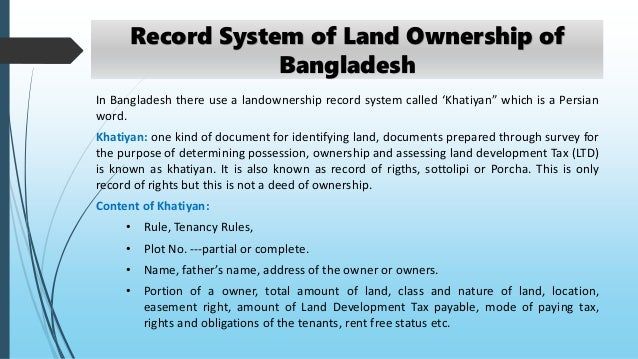 land ownership pattern Start studying ch 36 the holder of a liefe estate hast the right to use property for whatever nika owns land in ohio her ownership rights include the.