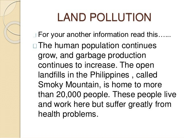 information for pollution What is air pollution air pollution refers to the release of pollutants into the air that are detrimental to human health and the planet as a whole the clean air act authorizes the us environmental protection agency (epa) to protect public health by regulating the emissions of these harmful air pollutants.
