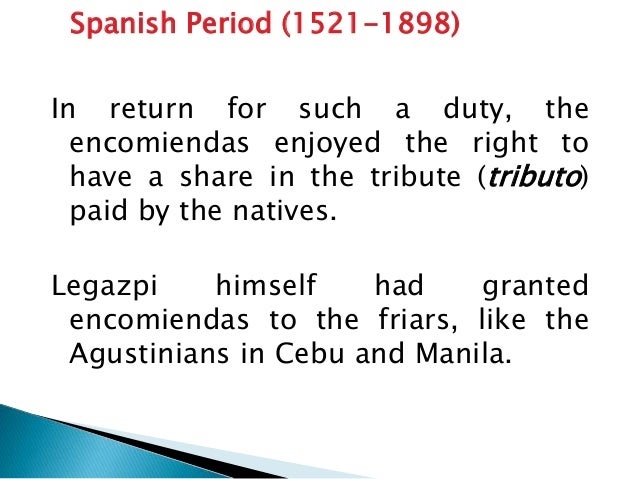 Spanish Period: 1776 to 1822