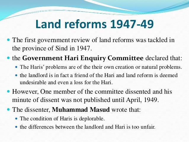 economic objectives of land reform The important objectives of land reform measures in india were: (1) to enhance  the productivity of land by improving the economic conditions of farmers and.