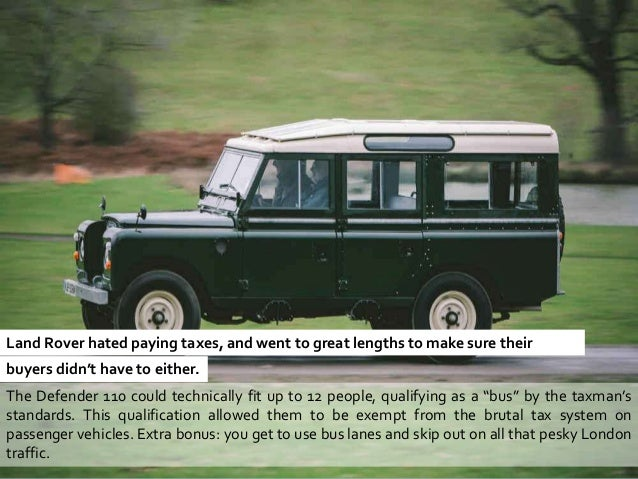 20 things you don 39 t know about land rover. Black Bedroom Furniture Sets. Home Design Ideas