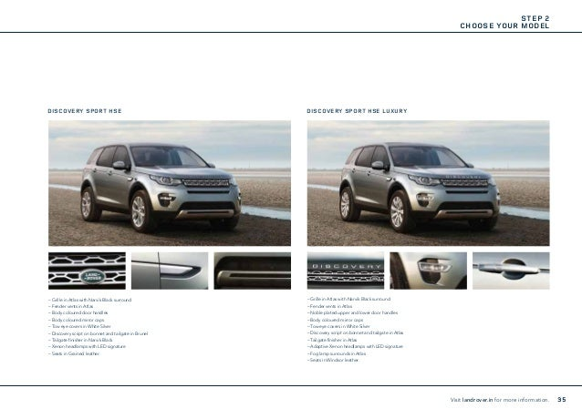 Land Rover Discovery Sport Brochure