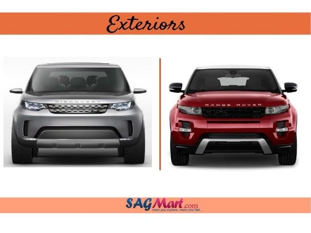 Land Rover Discovery Sport Vs Land Rover Range Rover Evoque
