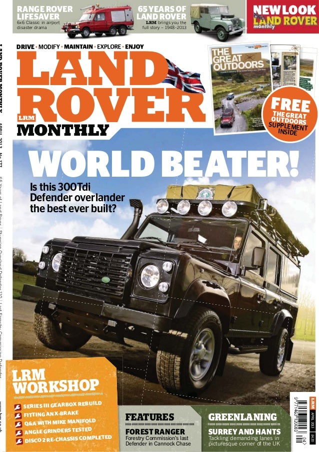 Land rover monthly 2013 04