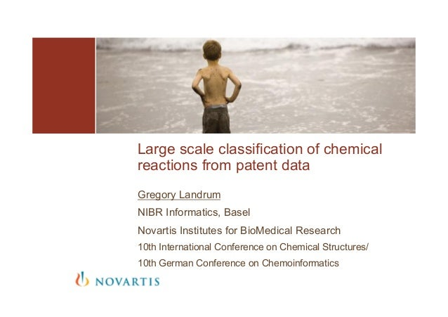 Gregory Landrum NIBR Informatics, Basel Novartis Institutes for BioMedical Research 10th International Conference on Chemi...
