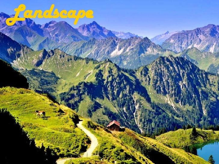 Landscape<br />