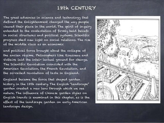 Historical Time Line Of Landscape Design