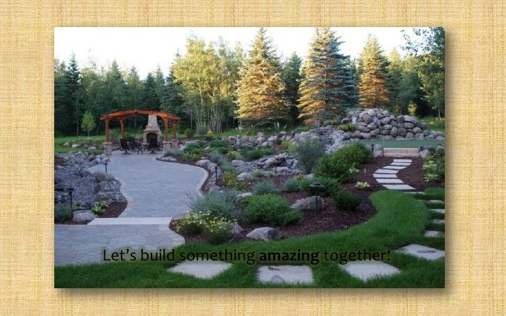Landscape design studios design samples for Sample landscape plan