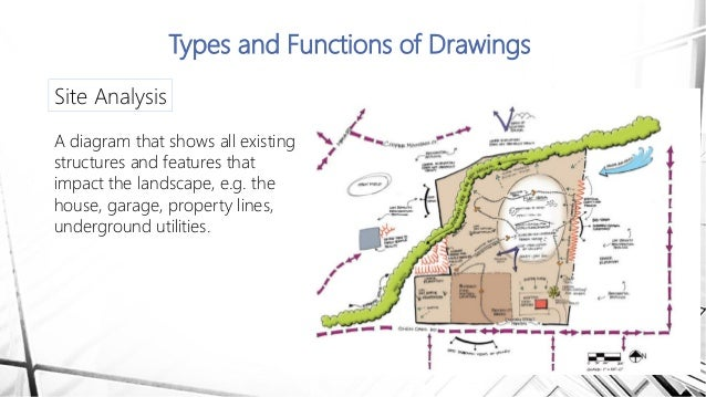 Drawings site analysis House Plot