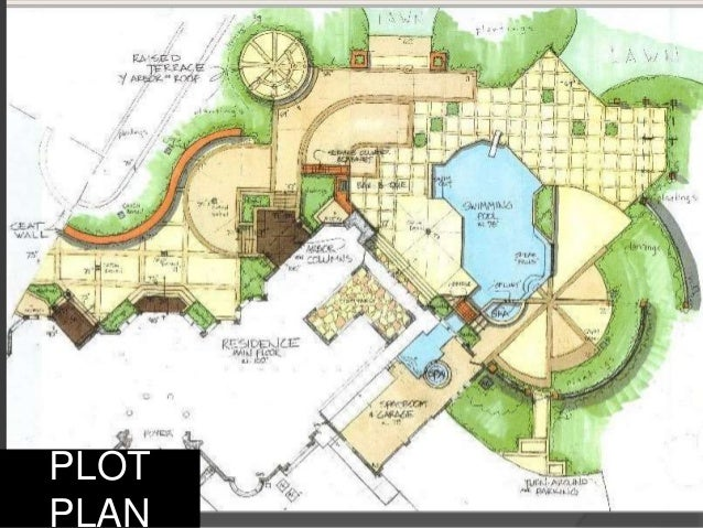 Landscape Architecture Drawings Presentation