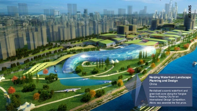 6 Nanjing Waterfront Landscape Planning And Design