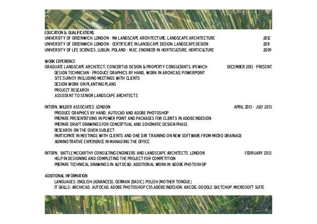 Landscape architecture portfolio barbara pyda – Landscape Architect Training