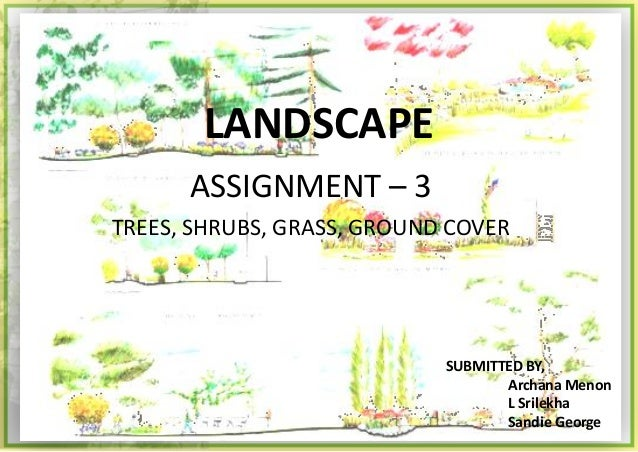 Landscape Assignments