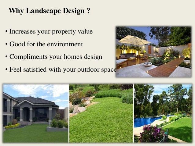 Landscape Design Benefits