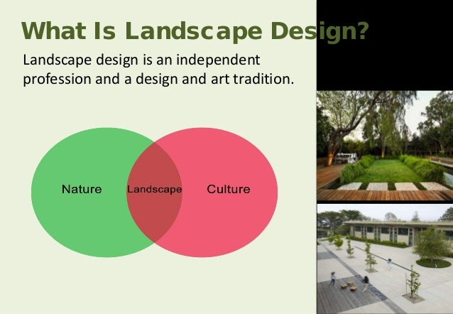 What is landscape what is landscape architecture what is for Define architect